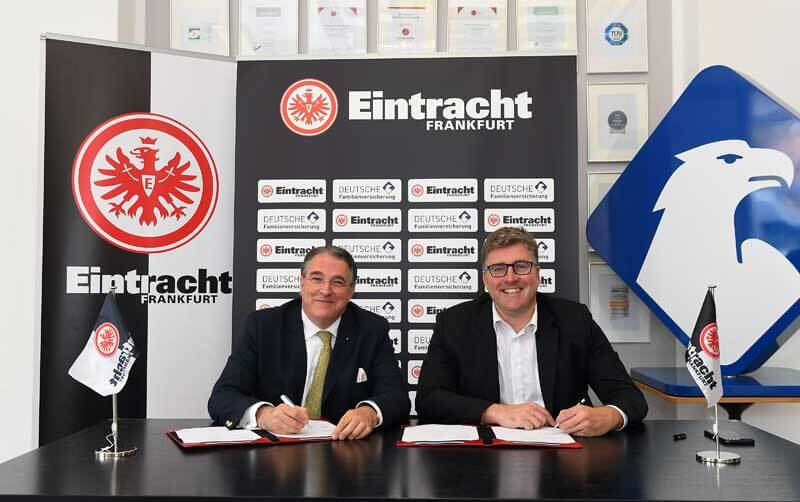 Deutsche Familienversicherung is new Premium Partner of Eintracht Frankfurt